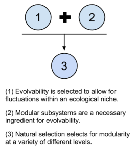 Massive Modularity- Argument From Design- Evolvability