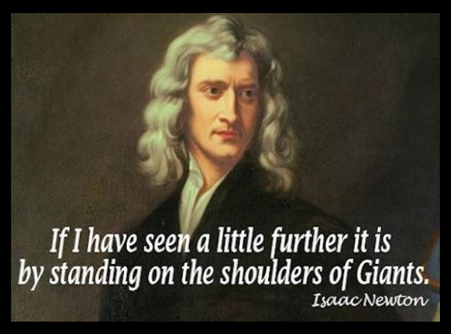 Overfitting- Newton Seen Further Quote