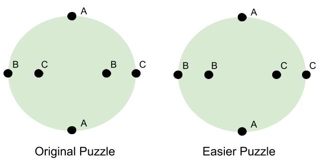 Topology- Original vs Easy Puzzle (2)