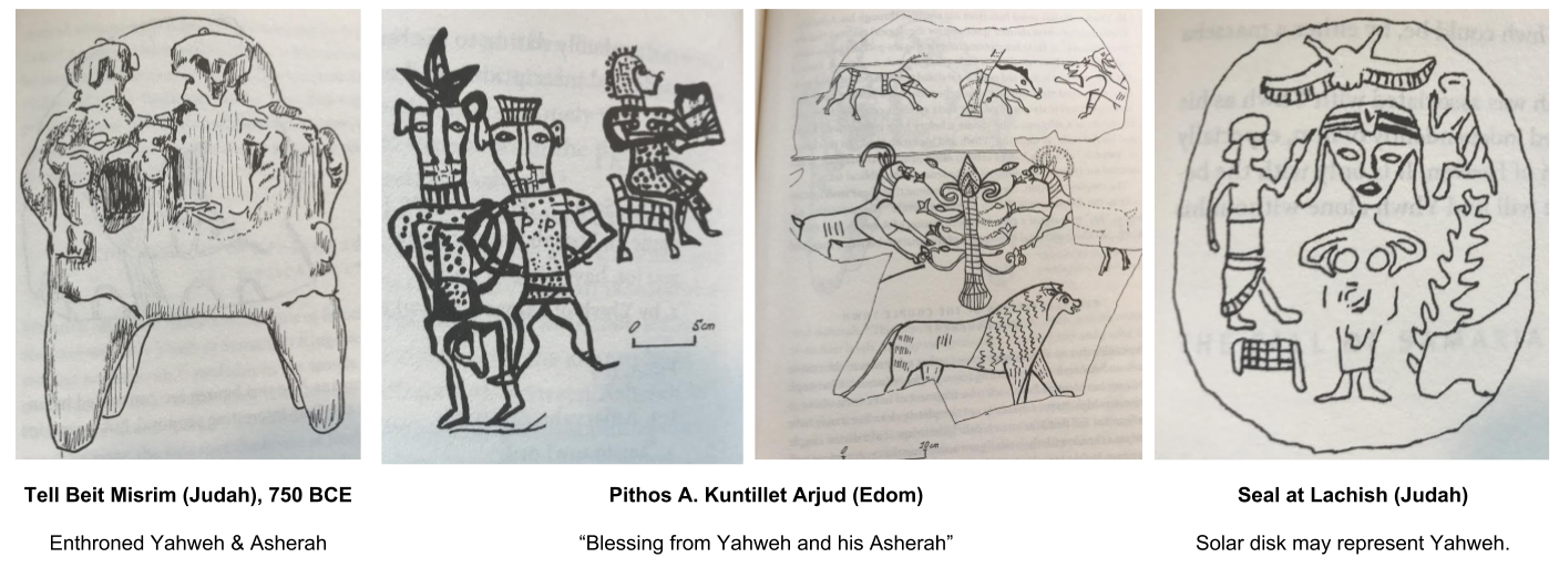 Israelite polytheism_ Yahweh and his Asherah